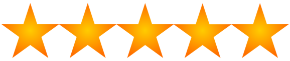 This image has an empty alt attribute; its file name is star_rating_5_of_55669651239437904827.png
